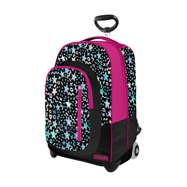 trolley sky girl fucsia - fronte