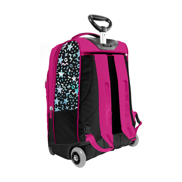 Trolley sky girl fucsia - retro