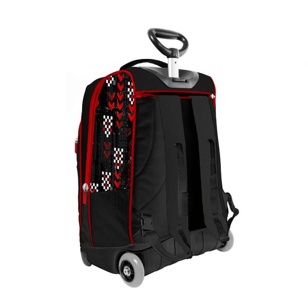 Trolley Cars Boy Rosso - Retro