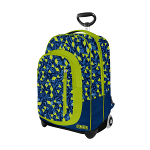 Trolley Urban Boy Verde - Fronte