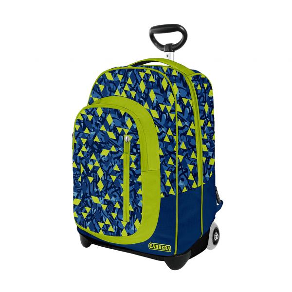 Trolley Urban Boy Verde - Fronte