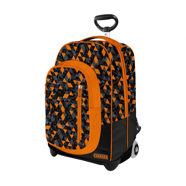 Trolley Urban Boy Arancione - Fronte