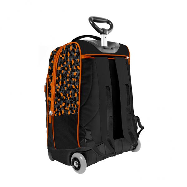 Trolley Urban Boy Arancione - Retro