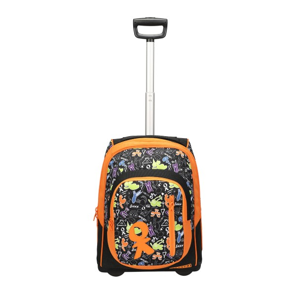 Trolley Doodle boy nero/arancione