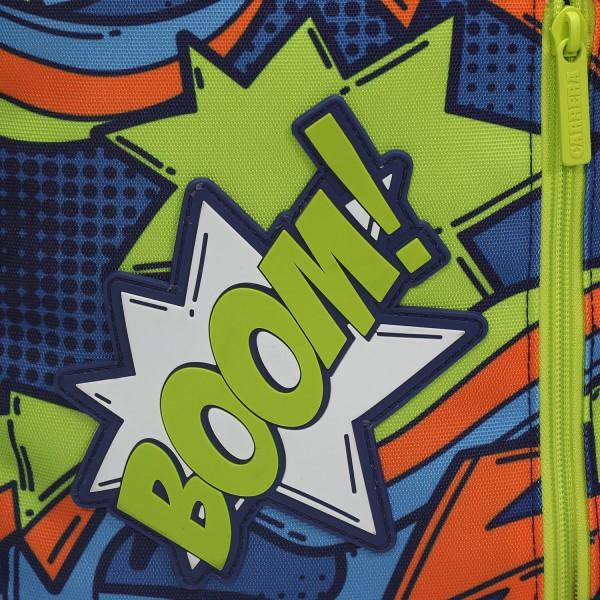 Trolley Comics boy blu/verde