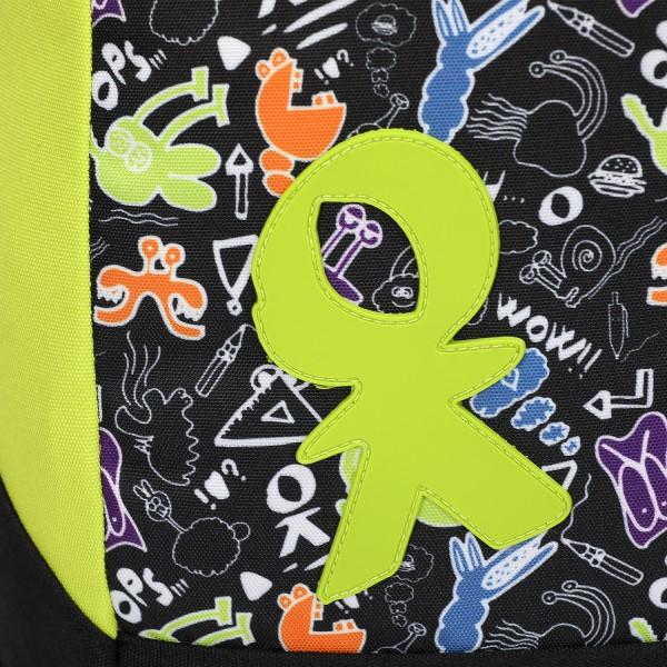 Zaino Blunt Doodle boy nero/verde