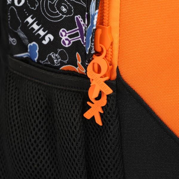 Zaino Blunt Doodle boy nero/arancione