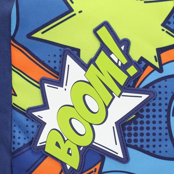 Zaino Blunt Comics boy blu/verde